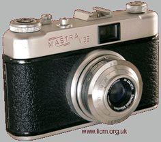 Regula, Mastra V35, 35mm camera c1958