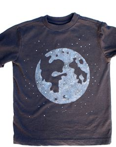 Easy Moon Glow in the Dark T-Shirt