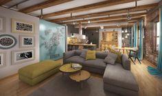 Boston Loft Interior. Designer: Ivanov Catalin