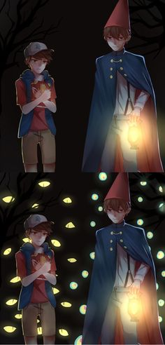 dipper and wirt by minjing