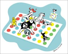 Dogs Playing Games! (#cuteeveryday show) • (Asian) Dogs Playing Mahjong • (French) Dogs Playing Baccarat • (German) Dogs Playing Wurstschnappen • (American) Dogs Playing Twister. • Dogs Playing Scrabble - NEW! Limited edition signed and numbered...