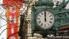The Marshall Field's Clock