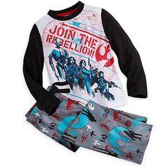 Rogue One: A Star Wars Story Sleep Set for Kids- Size 7/8 NWT Boys Disney #Disney #PajamaSets