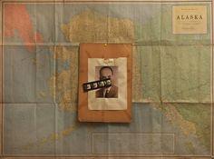 """""""Alaska""""by Nikos Zappas Mixed media 1996 ®"""