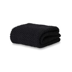 Moss Stitch Wool Throw | Città