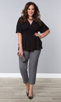 4c53356281d Plus size women clothing big size women tops summer L-6XL. Work  CasualBusiness Casual OutfitsCurvy ...