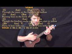 Longer (Dan Fogelberg) Ukulele Cover Lesson in G with Chords/Lyrics - YouTube