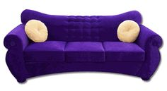 I think i have a thing for purple couches! This Couch is so mine!!! I will own him one day, I'm saving right now to get him! It's also a sleeper sofa which is perfect!!
