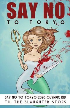 Stop the slaughter of these wonderful creatures. Stop Japan's bid for 2020 Olympics until they Stop the slaughter of Dolphins ! Support this valued cause Save The Whales, 2020 Olympics, Tokyo 2020, Stop Animal Cruelty, Sea World, Animal Welfare, Monster, Animal Rights, Dolphins