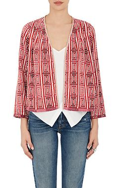 Ace & Jig Cotton Kimono Jacket - Damask