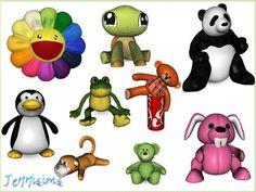Decorative animals set 17 by Jennisims - Sims 3 Downloads CC Caboodle