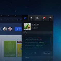 AVOCODE – PREVIEW AND INSPECT PSD Get CSS, SVG, image assets, fonts, colors. All without Photoshop.