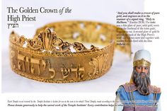 The Temple Institute: The Golden Crown of the High Priest Gallery