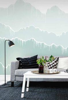 покраска стен градиент