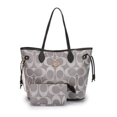Coach In Monogram Large Grey Business bags DHJ [bagpro_58] - $63.99 : Coach Outlet-Coach Factory Outlet Store Online