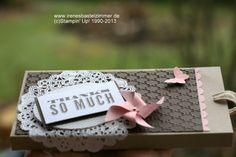 Schokoladen Verpackung im Stampin' Up! Style