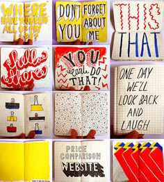 Can't stop looking at London-based artist Jenni Sparks' sketchbook...