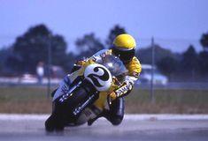 Kenny Roberts dreifacher Motorradweltmeister ein Portrait von Winni Scheibe