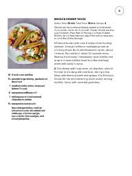 """I saw this in """"What's for Dinner?"""" in Martha Stewart Living March 2014."""
