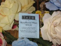 Tazo BerryBlossom White Tea – Potent Flower Power