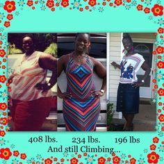 Nataisha - lbs lost = 212(ongoing)
