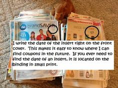 WNY Deals and To-Dos: List of Expired Whole Inserts (thru 11/30/2014)