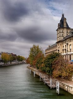 Ile de la Cité, Quai des Orfèvres, Paris I