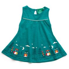 Our new story time dress is made from soft slub jersey fabric for guaranteed comfort. This particular blue dress features our owl and the pussycat print. This dress is perfect for the summer weather Organic Fairtrade slub jersey Lovely Dresses, Blue Dresses, Summer Dresses, The Pussycat, Organic Baby Clothes, Popular Dresses, Kids Wear, Dress To Impress, Organic Cotton