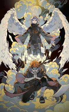 Akatsuki at the top - Naruto ~ DarksideAnime Naruto Shippuden Sasuke, Naruto Kakashi, Anime Naruto, Pain Naruto, Naruto Shippuden Characters, Madara Uchiha, Shikamaru, Boruto, Naruto Wallpaper