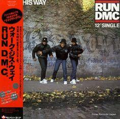 スノー・レコード・ブログ: RUN D.M.C. - ウォーク・ジス・ウェイ / walk this way - L13P711...