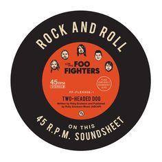 Check out Foo Fighters Vinyl Slipmat on @Merchbar