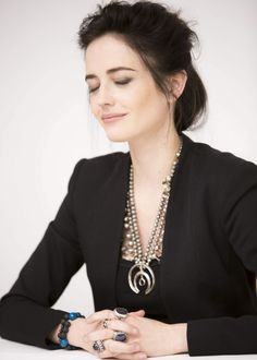 Eva Green at 300: Rise of an Empire Press Conference at the Four Seasons Hotel, March 2014.