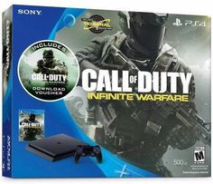 Sony PlayStation ... http://www.jnlgame.com/products/playstation-4-slim-500gb-console-call-of-duty-infinite-warfare-bundle-discontinued?utm_campaign=social_autopilot&utm_source=pin&utm_medium=pin