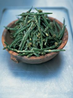 Good old French bean salad With a tangy mustardy dressing  Serve this gorgeous green bean salad warm to enjoy all those lovely flavours to the full   French Bean Salad | Vegetables Recipes | Jamie Oliver Recipes