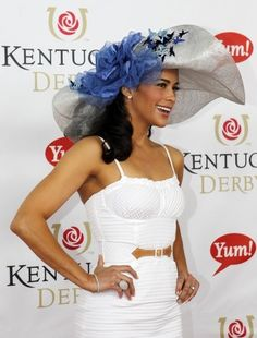 49f1f55a4 Kentucky Derby '11: Hats & Celebs - Gallery | Naples Daily News Kentucky