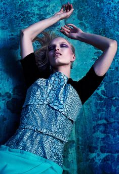 Nicola Haffmans by Stevie and Mada for LA Confidential April/May 2012