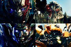 Optimus Prime, Megatron, bitch e Bumblebee ☺