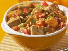 Erdnuss-Tofu-Topf ist ein Rezept mit frischen Zutaten aus der Kategorie Eintöpfe. Probieren Sie dieses und weitere Rezepte von EAT SMARTER!