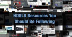 HDSLR Resources