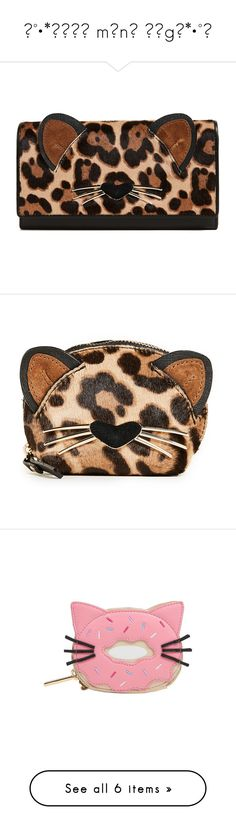 """""""∆°•*ѕσσσ mαnч вαgѕ*•°∆"""" by booknerd1326 ❤ liked on Polyvore featuring bags, wallets, multi, cat bag, zipper bag, zip wallet, brown bag, leopard bag, change purse and cat key ring"""