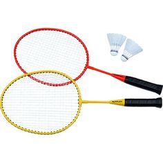 Sunflex Badminton Schläger Set Junior