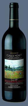 Pinot Noir Fondation Gianadda AOC Valais, « Claude Monet » 2010  http://www.cavesorsat.ch