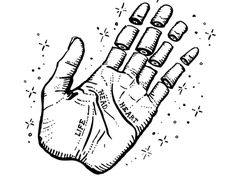 Amy Hood of Hoodzpah Art + Graphics - Active Skateboard Flash Illustration: Hand
