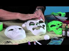 ▶ How to Make a Duck Tape Halloween Mask - YouTube