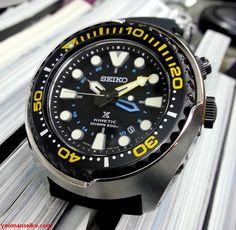 39c9021e838 Seiko Prospex Kinetic GMT SUN021P Mergulhador Seiko
