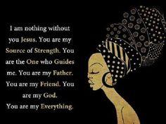 I am nothing without you Jesus......
