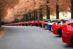 Esta es una noticia de alto voltaje, desde Japón concretamente nos llegan estas fotos de una concentración de deportivos, mejor dicho de superdeportivos; Ferraris F40. Yo por llevar la contraria[...]