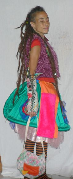 jupe patchwork cerceaux création unique by freaks bazar more here http://www.alittlemarket.com/boutique/freak_s_bazar-1342471.html