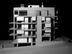Edificio de apartamentos en la calle Deinokratous, Atenas,Maqueta