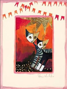 """""""On the Road Again"""" par Rosina Wachtmeister"""
